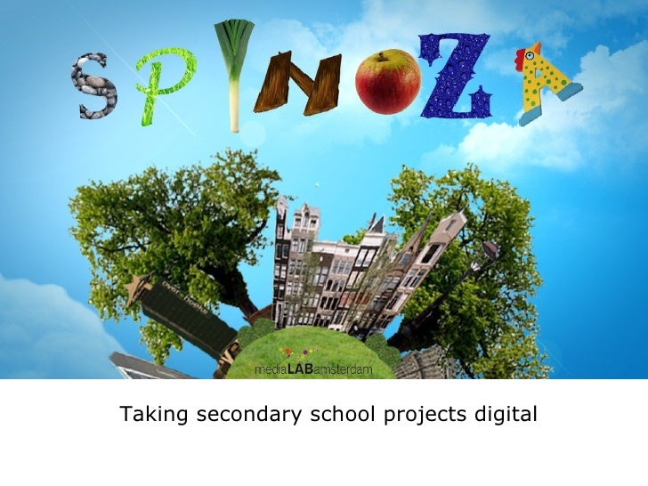Taking secondary school projects digital