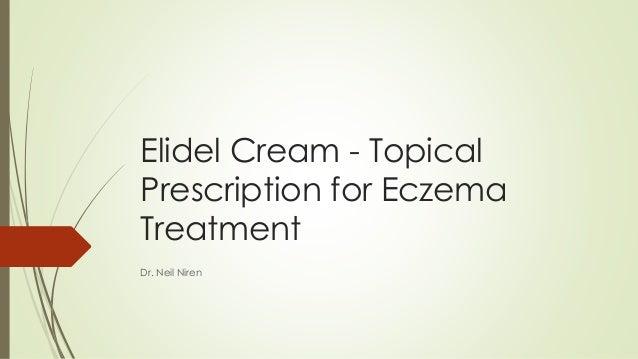 Elidel Cream Topical Prescription For Eczema Treatment