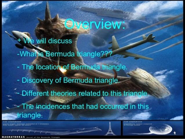"""Bermuda Triangle """"The Devil's triangle"""""""