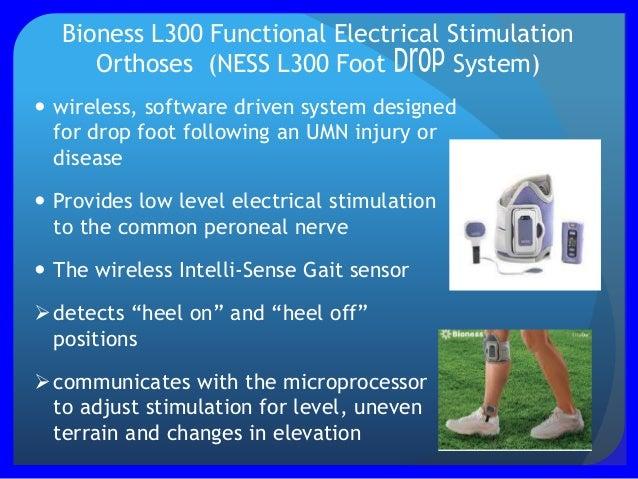 Presentation 225 B Linda Cates Use Of Bioness L300