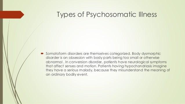 Types of Psychosomatic Illness