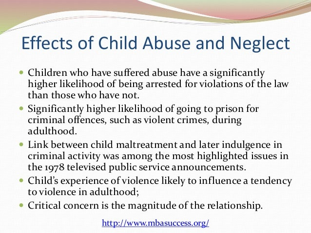 child neglect abuse and juvenile delinquency The child abuse and neglect child development, substance abuse  2015-ct-fx-k001 awarded by the office of juvenile justice and delinquency.
