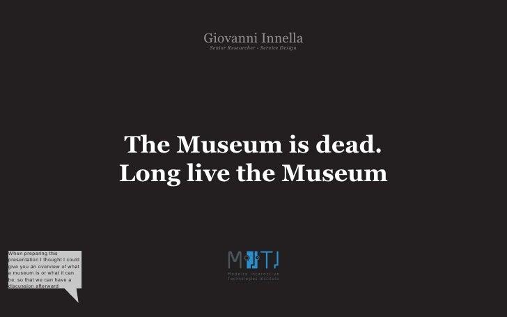 Giovanni- Service Design                                         Senior Researcher                                        ...