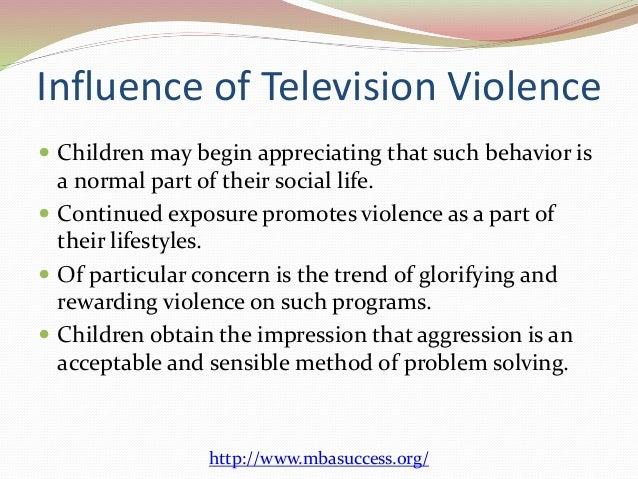 media violence essay outline