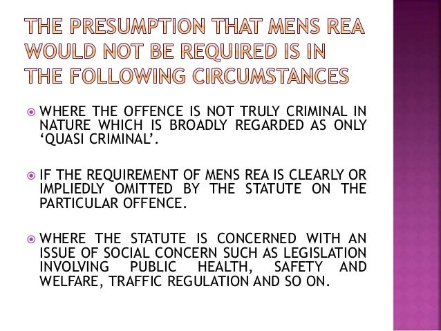 actus non facit reum nisi mens sit rea essay Translated into english, actus no facit reum nisi mens sit rea means that an act  does not make one guilty unless his mind is guilty in other.