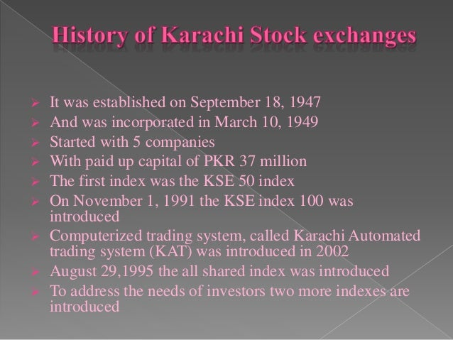 guideto investors in karachi stock exchange Report no 35499-pk pakistan growth and export competitiveness april 25, 2006 poverty reduction and economic managent sector unit south asia region document of the world bank tabl.