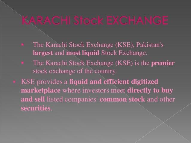 KSE Karachi Stock Exchange - Live KSE 100 Index, Online ...