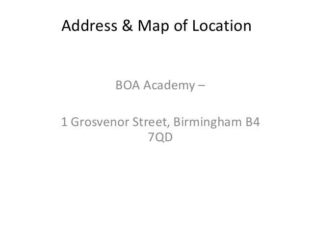 Recce for Location Slide 2