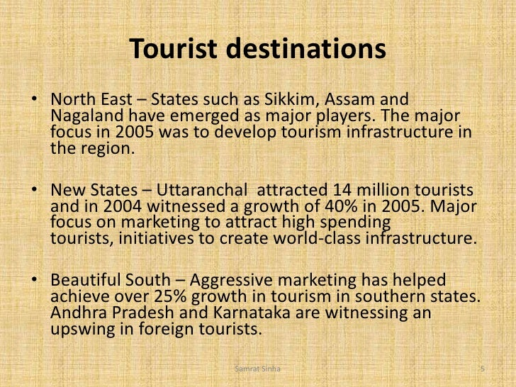 tourism in india 5 essay Heritage tourism in india offers information on rich heritage of india well preserved in the famous heritage destinations – a free powerpoint ppt presentation.
