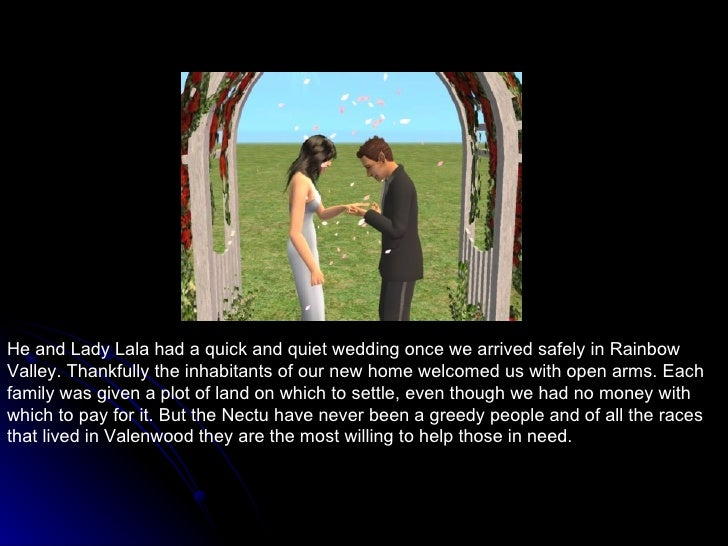 He and Lady Lala had a quick and quiet wedding once we arrived safely in Rainbow Valley. Thankfully the inhabitants of our...