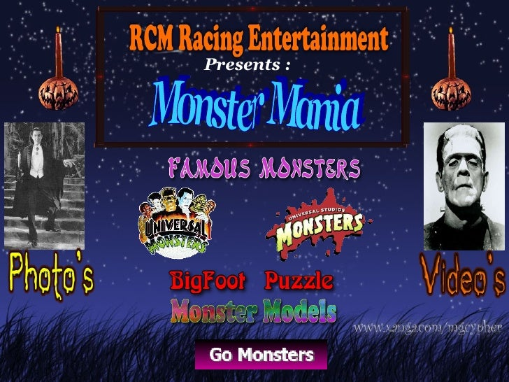 Presents : Monster Mania