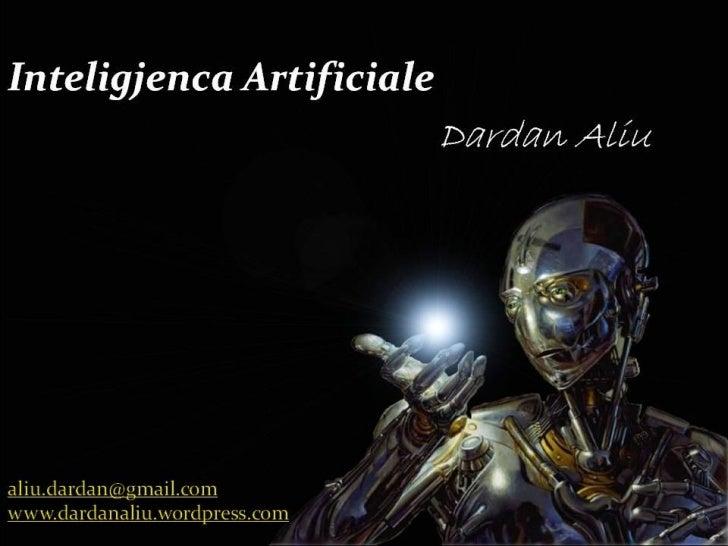 Inteligjenca Artificiale - AI