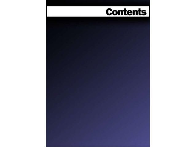 Contents Page Progression