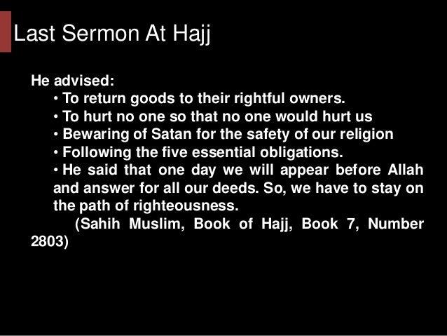 Kindness of prophet muhammad essay