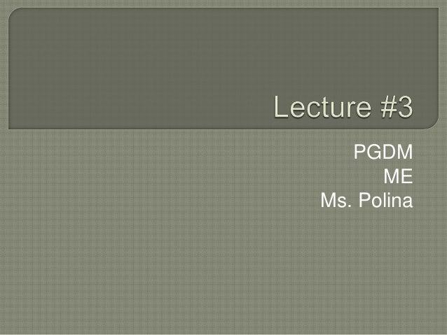 PGDM ME Ms. Polina