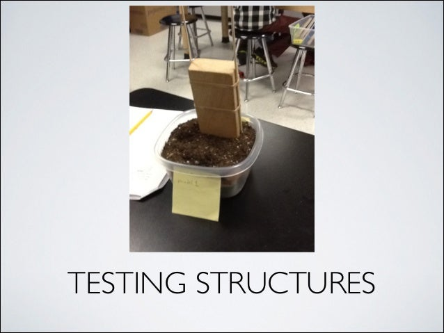 TESTING STRUCTURES