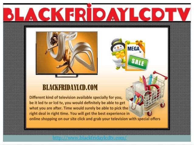 Great deals on tvs black friday