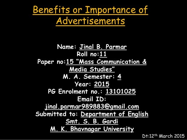 advantages of advertisement The diversity of newspaper and magazine advertising helps you target an niche  audiences that are ideal for what you are selling.
