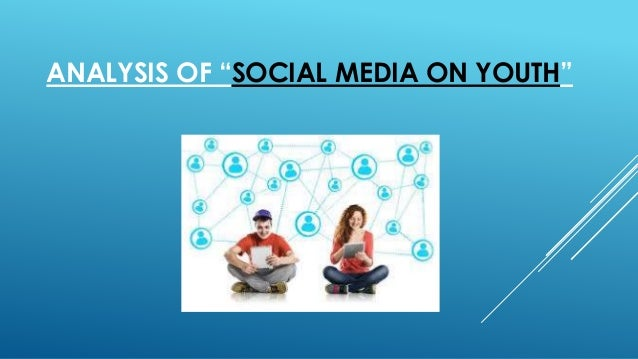 impact of social media on youth pdf