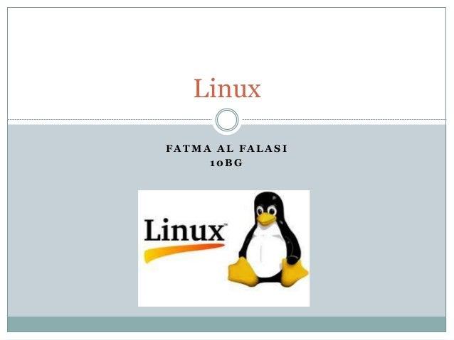 F A T M A A L F A L A S I 1 0 B G Linux