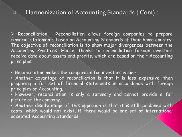 advantages of principle based accounting standards