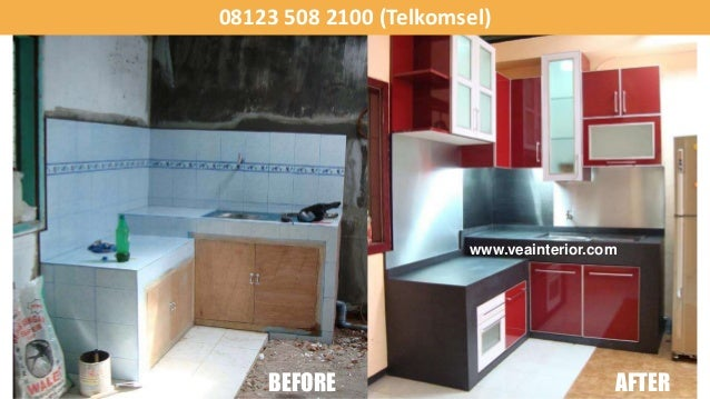 Kitchen set harga model lemari dapur rak for Ukuran rak piring kitchen set