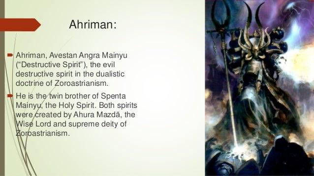 Presentation on Zoroastarinism