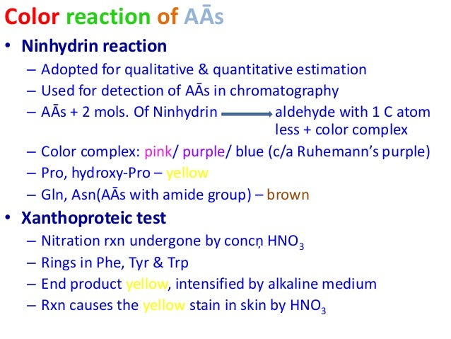 reactions of amino acids pdf