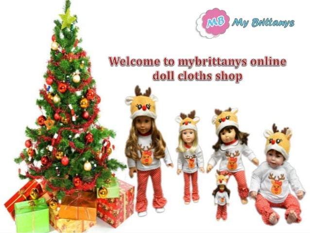 mybrittanys is a manufacturer of doll clothing for 6 1451518 - Christmas Decorations For American Girl Dolls