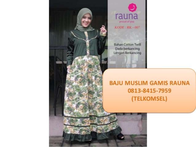 Baju Muslim Wanita Pesta Terbaru 0813 8415 7959 Telkomsel