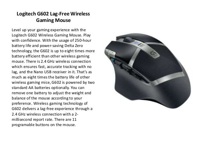 Top Best Gaming Mice 2018