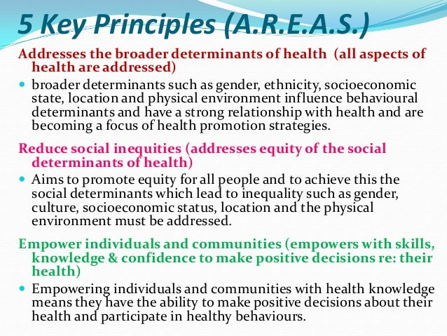 Access to health care (accessible and appropriate health  information) Access to health care is a significant factor cont...