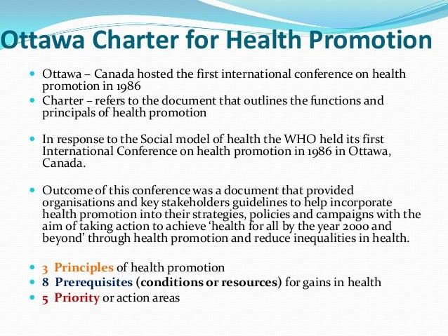 Ottawa Charter0National Tabacco Campaign