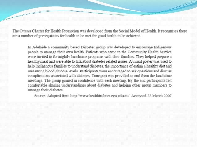 3.2.1 Models of Health