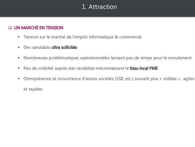  Tension sur le marché de l'emploi informatique & électronique  Des candidats « ultra sollicités » utilisant les réseaux...