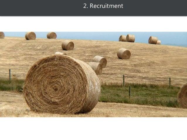 2. Recruitment  Identifier son besoin  Budget  types de contrat (freelance, associé, salarié, stagiaire, etc.)  Taches...