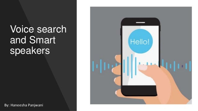 voice search and smart speakers 1 638
