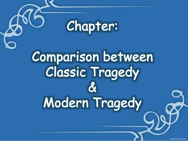 similarities between comedy and tragedy