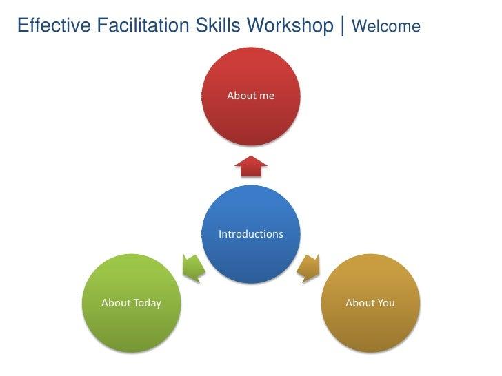 Effective Facilitation Slide 2