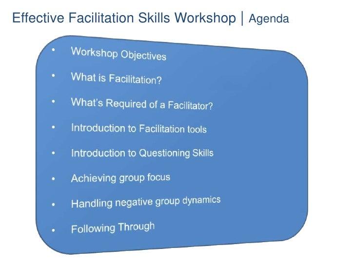 Effective Facilitation Slide 3
