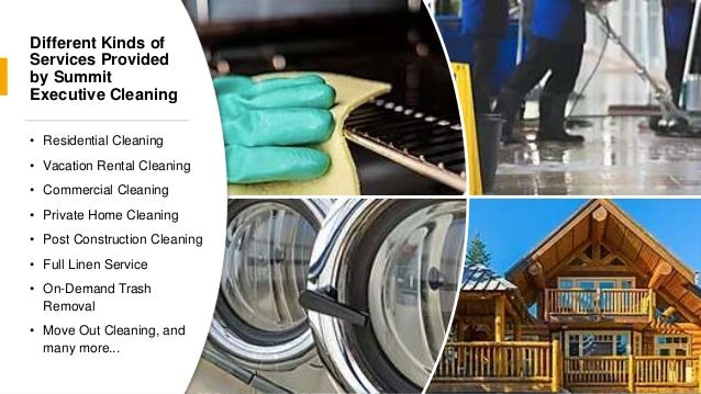 Trusted Cleaning Service in Summit County Slide 3