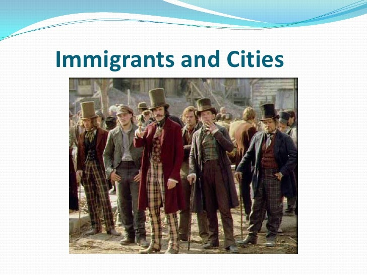 Immigrants and Cities<br />