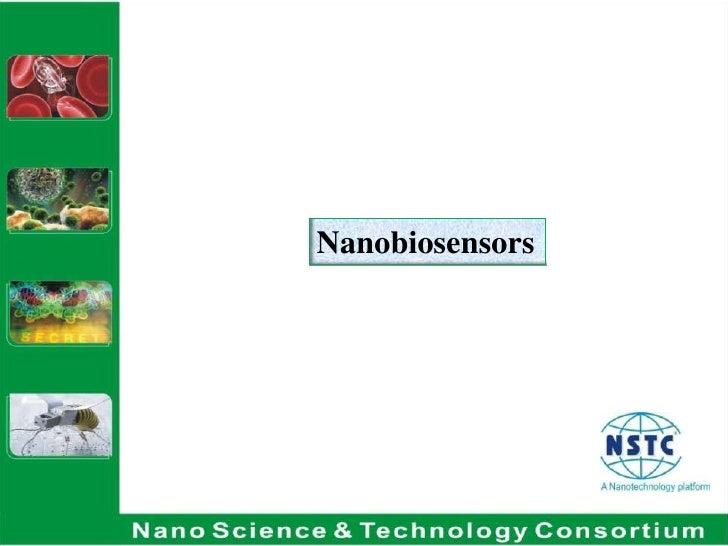 Nanobiosensors <br />