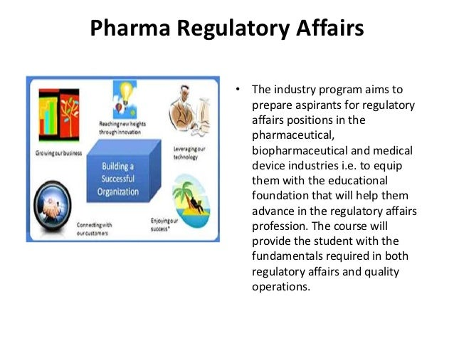 regulating pharmaceutical industry