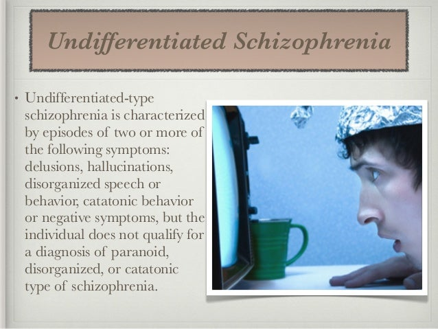 an example of a persona suffering from paranoid schizophrenia Paranoid schizophrenia: symptoms and treatment of paranoid schizophrenia a vivid example of manifestation of schizophrenia people suffering from this.