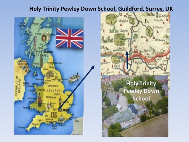 Guilford England Map.Introduction Of Holy Trinity Shool Guildford England