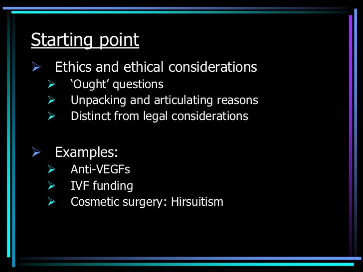 the ethical issues behind plastic surgery Ethics of sex change operation: when biology becomes a choice soraj hongladarom department of philosophy faculty of arts chulalongkorn university.