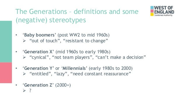 Alex Holly - Multigenerational Workforce Slide 3