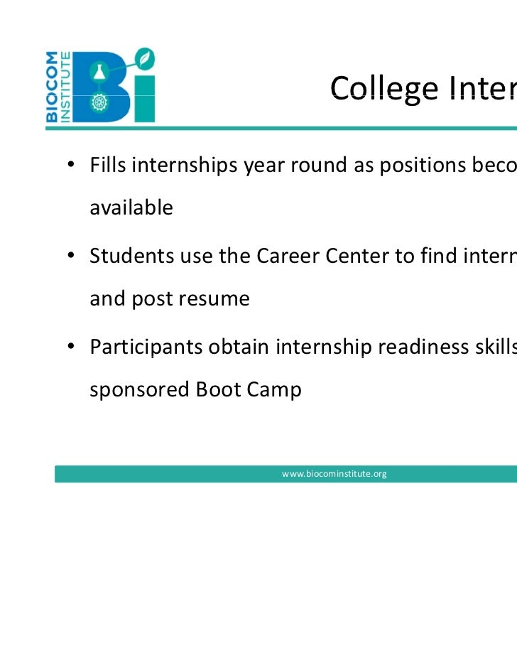 Internship case study