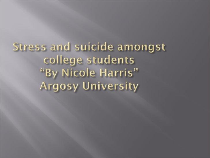 Presentation4.Ppt Suicide Amongst Colege Students   Powerpoint Slide 1